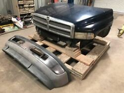Used 2001 Dodge Ram 3500 Diesel Front End Assembly As Shown 27808