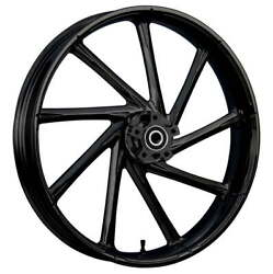 21 X 3.5andrdquo Front Kinetic Black Front Wheel Rotors Tire - Harley Touring Bagger
