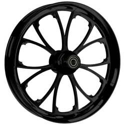 21 X 3.5andrdquo Front Arc Black Front Wheel Rotors And Tire - Harley Touring Bagger