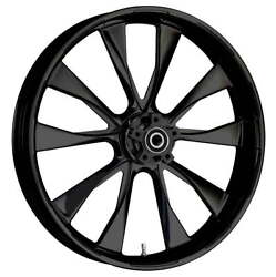 """21 X 3.5"""" Front Diode Black Front Wheel, Rotors And Tire - Harley Touring Bagger"""