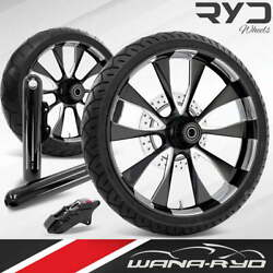 Diosl215185frwtsdk09bag Diode Starkline 21 Fat Front And Rear Wheels Tires Disk