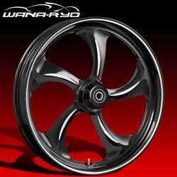 Ryd Wheels Rollin Starkline 23 Fat Front And Rear Wheel Only 09-19 Bagger