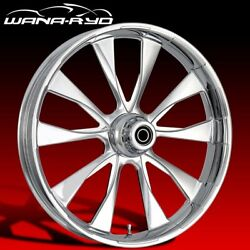 Ryd Wheels Diode Chrome 23 Front And Rear Wheels Only 2008 Bagger