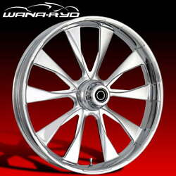 Ryd Wheels Diode Chrome 23 Front And Rear Wheel Only 09-19 Bagger