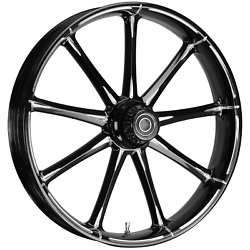 Fat Tire 21 X 5.5 Ion Starkline Wheel Package - 2000-18 Harley Touring Models
