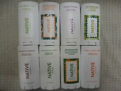 Native Deodorantu Pick Type And From 72 Scentsvarious Sizes 0.35 - 3 Oz