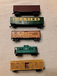 Ho Scale Freight Car Lot. Various Manufacturers O/ho3101620g