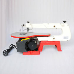 Vi 16 Electric Variable Speed Wood Tool Jig Scroll Saw 45° Tilt Cast Iron Base