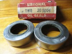 Cushman Motor Scooter + Model 760 And 780 + Front Wheel And Side Car Seals + Nos