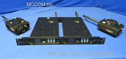 Avalon Rf Hdx602 Receiver Qty 2 W/ Htx627 Transmitter Qty 2 As Is/ Parts