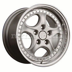 For Porsche 911/993 Tramont Cup 2 Rs Rear Silver Wheel 11x18 Et 18 New