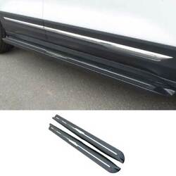 For Chevrolet Equinox 18-21 Black Steel Side Step Running Board Nerf Bar Protect