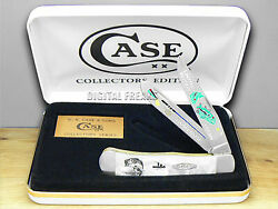Case Bass Fever White Pearl 1/500 Trapper Knives 2