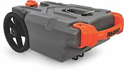 Camco 39006 Rhino Hd 36 Gal Portable Rv Waste Holding Tank W/ Hose And Accessories