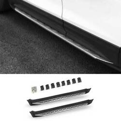 For Chevrolet Equinox 2018-2021 Silver Side Step Running Board Nerf Bar Protect
