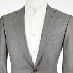 Recent  Mila Trofeo 600 Wool And Silk F Front Men's Suit Us 40r