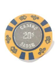 Casino Sadsh Vintage Vault 20.00 Chip Great For Any Collection