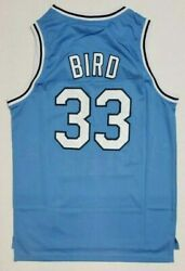 Larry Bird #33 Indiana State 1979 College Mens Basketball Jersey Stitiched S XXL