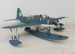 148 Scale Built Rough Decal Plastic Model Airplane Os2u Kingfisher Wwii Us Navy