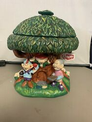 Keebler Elf Cookie Jar - Collectible Hollow Tree Millennium Limited Production