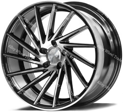 20 Bp Zx1 Alloy Wheels Commercially Rated To 860kg Fits Vw T5 T6 T28 T30 +tyres
