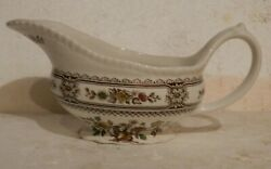 Mid-century Wood And Sons Dorset Brown Gravy Boat Only Made In England.