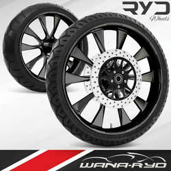 Diobl235184frwtdd08bag Diode Blackline 23 Fat Front And Rear Wheels Tires Packag