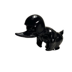 Bad Angry Duck Biker And Motorcyclist In Helmet From Death Proof Hood Ornament