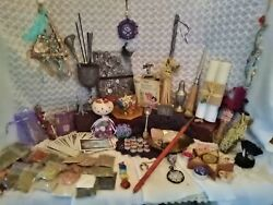 Huge Witches Starter Kit, Goddess Altar Kit, Pagan Magic, Wicca, Wiccan