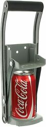 Aluminum Can Crusher And Bottle Opener Ram-pro 12 Oz Heavy Duty Metal Wall Mounted