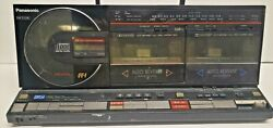 Very Rare Vintage Panasonic Rx-cd70 Am/fm Cd/dual Cassette Boombox Made In Japan