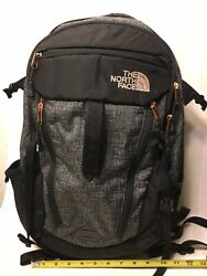 The Surge Backpack Charcoal Gray Pink Laptop Sleeve Straps Padded 31l
