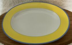 Rare Ch Field Haviland Limoge Claude Monet Giverny Oval Meat Dish 36cm
