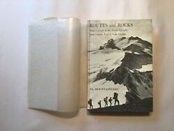 Routes And Rocks Crowder Tabor North Cascades Climbing Guide 1965 1st Hc/dj