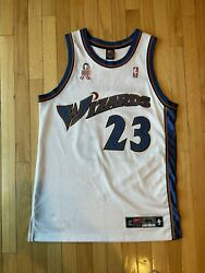 2002 Authentic Michael Jordan Nike Wizards Jersey Size 44 Large With 911 Patch