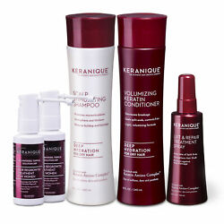 Keranique Deep Hydration Hair Regrowth Treatment System With Keratin 60 Days