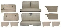 1964 Impala Coupe Interior Set With Upholstery Panels Arm Rest Covers
