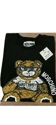 Moschino Hardy Bear Embroidered Short Sleeve T Shirt Sizes: 2XL $50.00