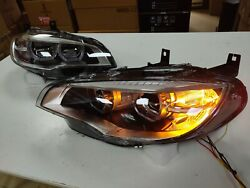 2008-2013 Year Led Headlights For Bmw X6 E71 Led Angel Eyes Front Lamps Cn
