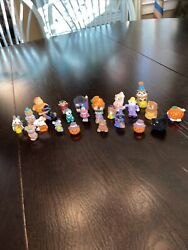 Halloween Hallmark Merry Miniatures Lot 24 Witches Ghosts Haunted House And More