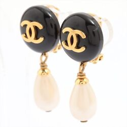 Coco Mark 95p Earing For Both Ears Gold Plated Gold Fake Pearl