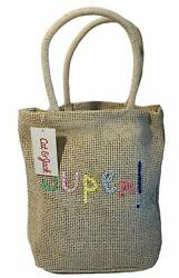 Cat amp; Jack Bag Woven Purse Bag Tote Girls Embroidery Super NWT Limited Edition $9.09