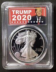 2017-w 2020 Proof Silver Eagle Pcgs Pr70 Dcam Us Mint Special Issue 399