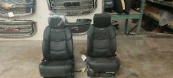 Front Bucket Seats Opt An3 Fits 16-17 Escalade Leather Heat Cooled Dvd 357697