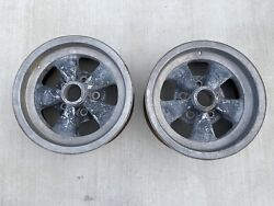 Cragar Vintage Rims, S/s Style 14 X 6 With 4 3/4 Bolt Pattern, Chevrolet