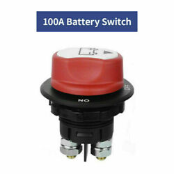 Dc 32v 100a Car On / Off Battery Switch For Auto Off-road Vehicle Boat Rv Marine