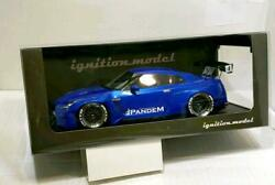 Ignition 1/18 Scale Pandem Gt-r R35 Mini Car Toy Hobby Goods