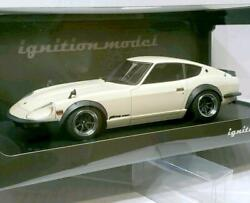 Ignition 1/18 Scale Fairlady Z-g Mini Car Toy White Hobby Goods