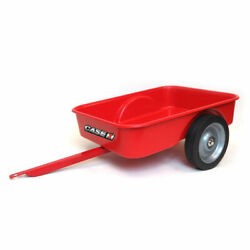 Red Plastic Trailer For Pedal Tractors By Scale Models Ff-0375