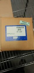 Shopaid 10015 .015 6 X 50 Stainless Steel Shim Stock Roll